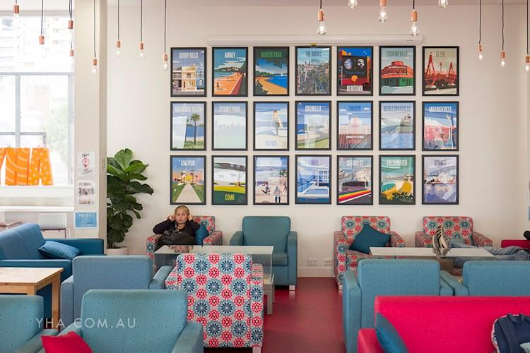 Common Area Wall Feature - Sydney Harbour YHA