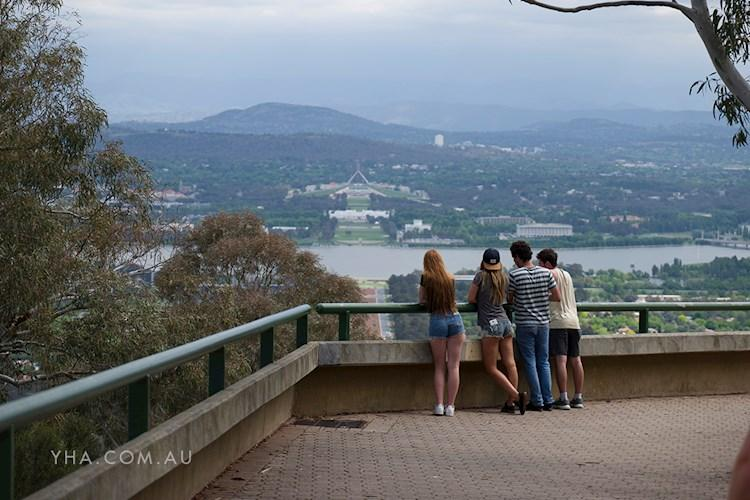 Canberra City YHA - Mt Ainslie Lookout