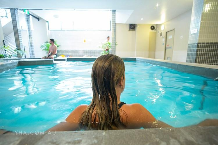 Canberra City YHA - Indoor Pool and Sauna